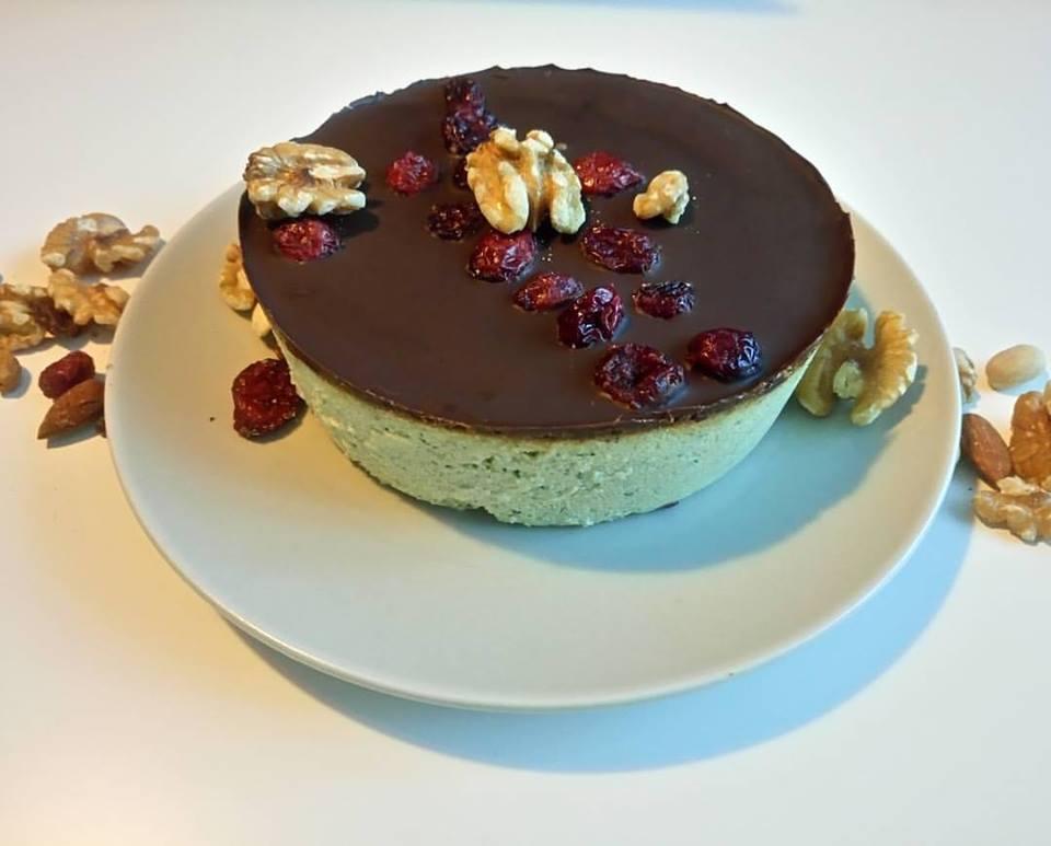 cheesecake de calabacín