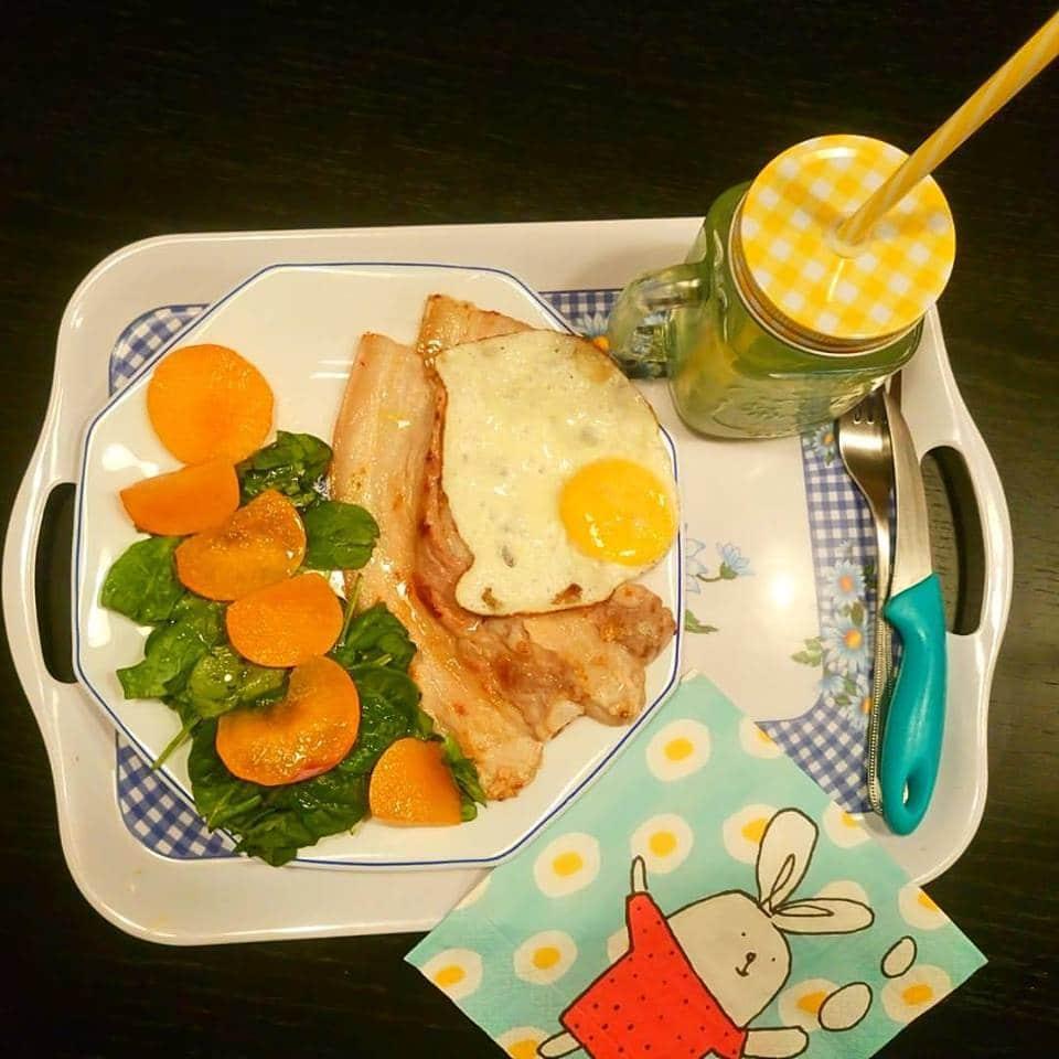 huevos fritos con panceta