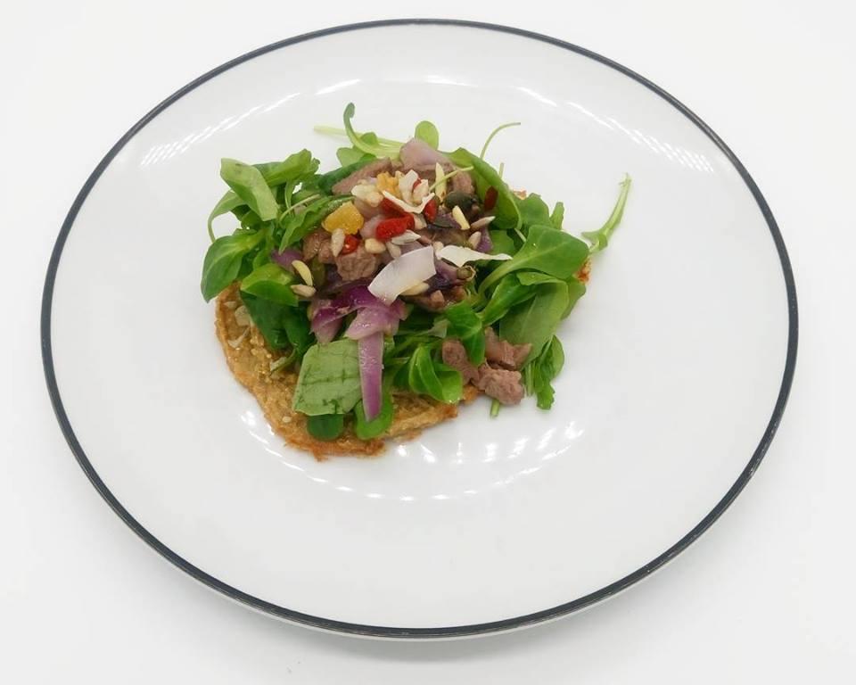 tosta quinoa