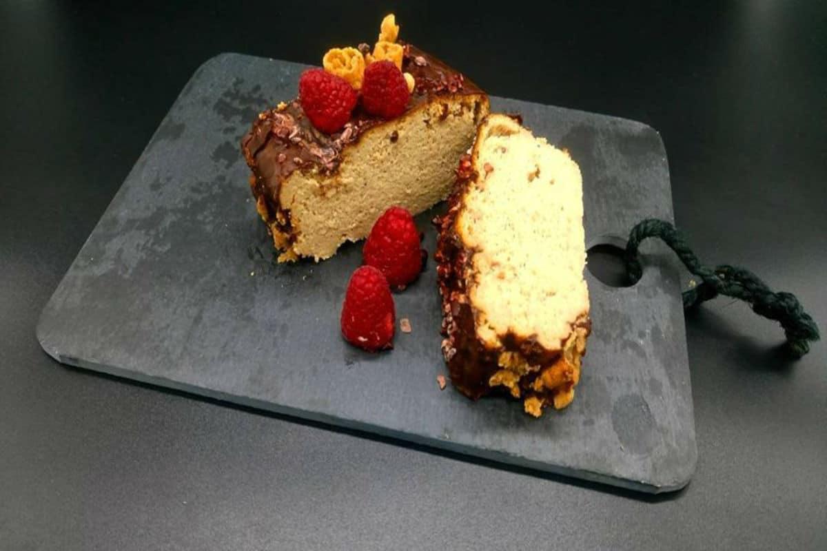 pastel saludable