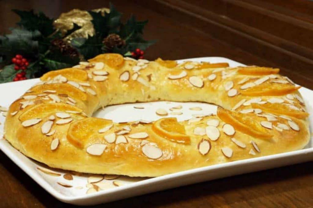 Roscón de reyes paleo (sin gluten, sin lactosa y sin azúcar)