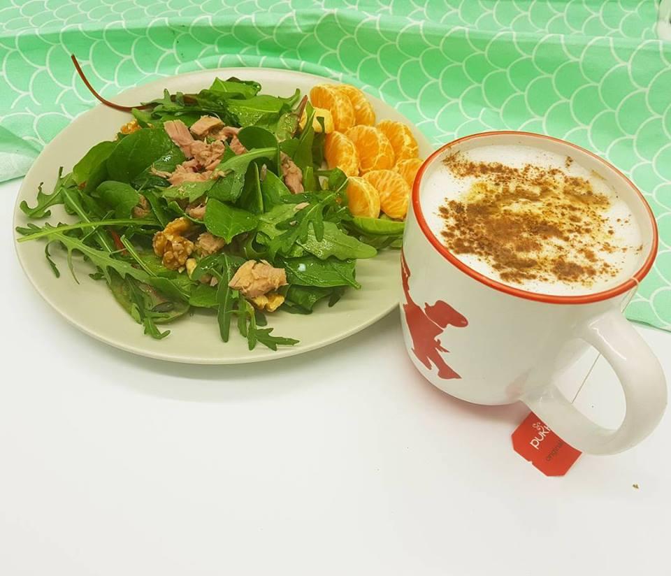 Desayuno ensalada