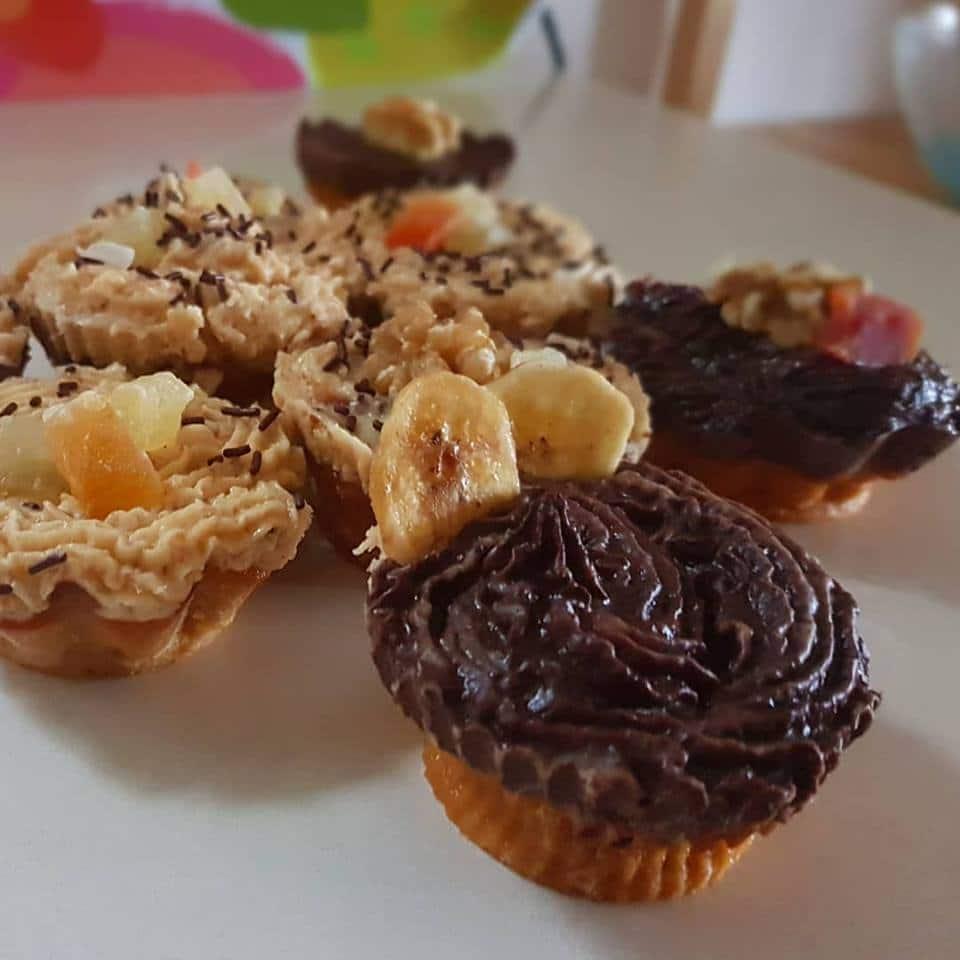 Cupcakes de boniato