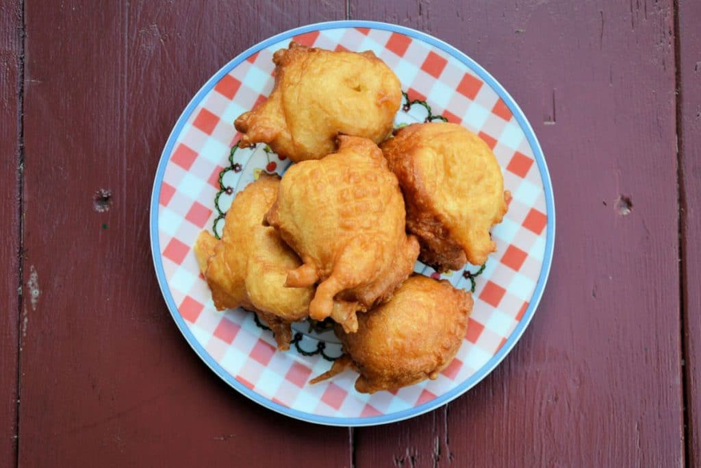 Buñuelos de viento al horno (sin harinas, sin gluten, sin lactosa y sin azúcar)