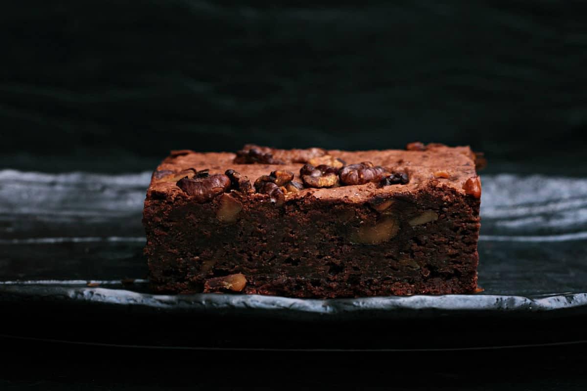 Brownie de boniato (sin gluten, sin lactosa, sin azúcar)
