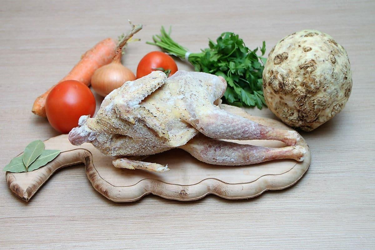 Pollo al estilo italiano con aceitunas