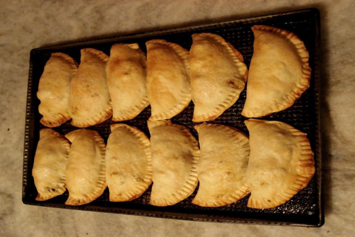 Empanadas argentinas paleo sin gluten, sin lactosa y sin azúcar