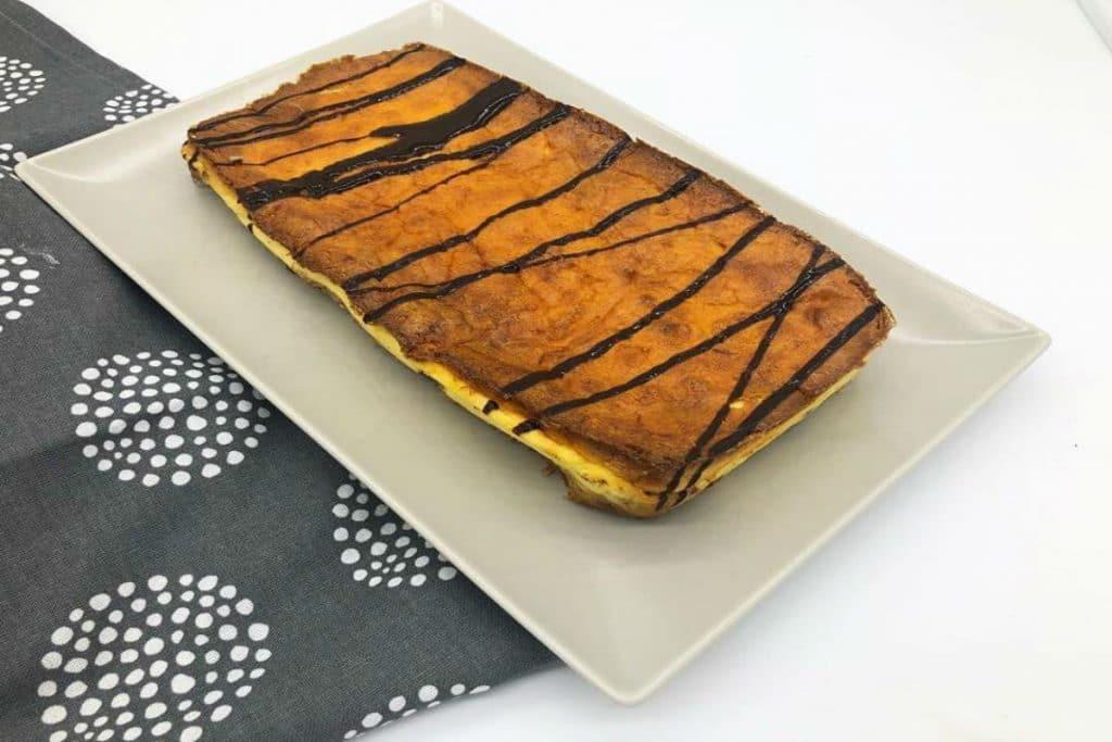 Pastel de keto… perdón queso :)