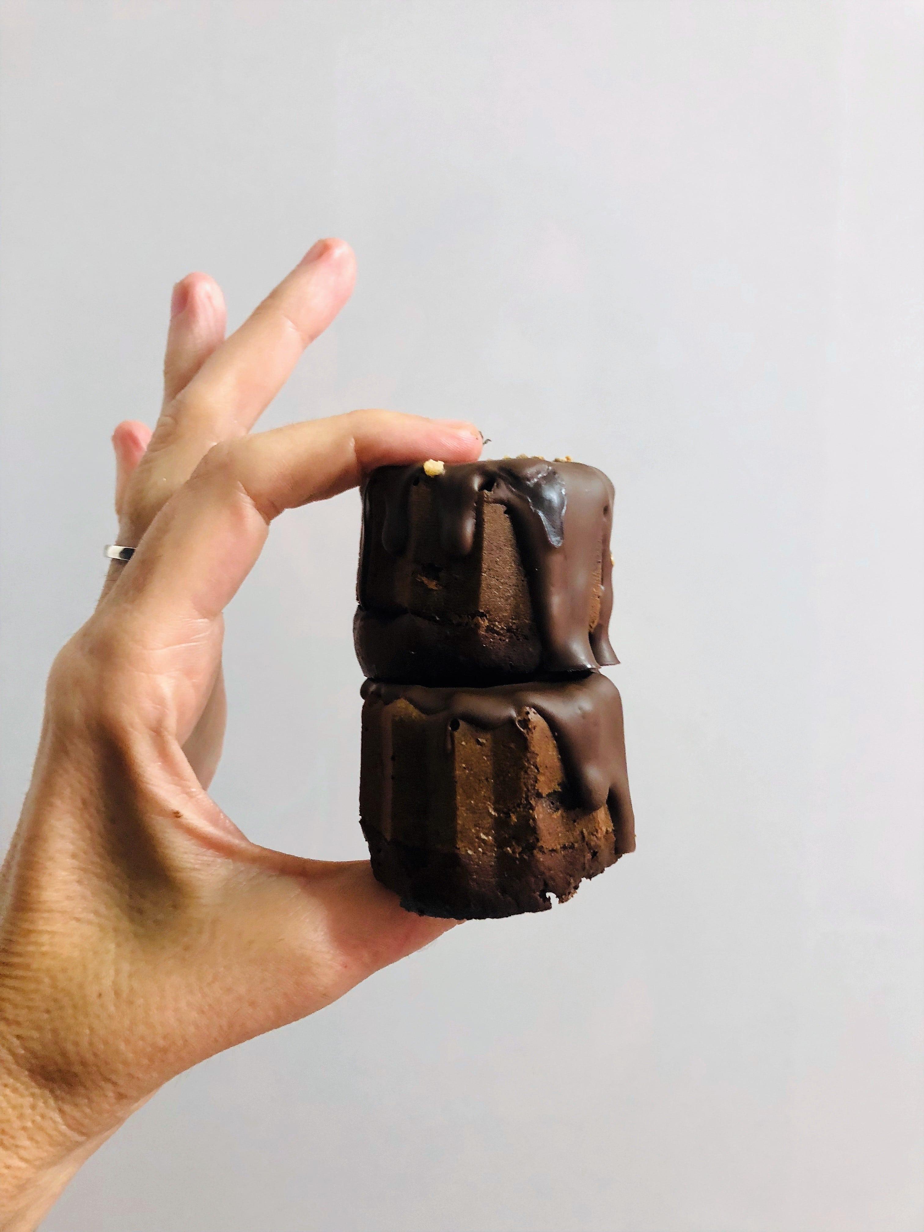 Pingüinos dulces de chocolate