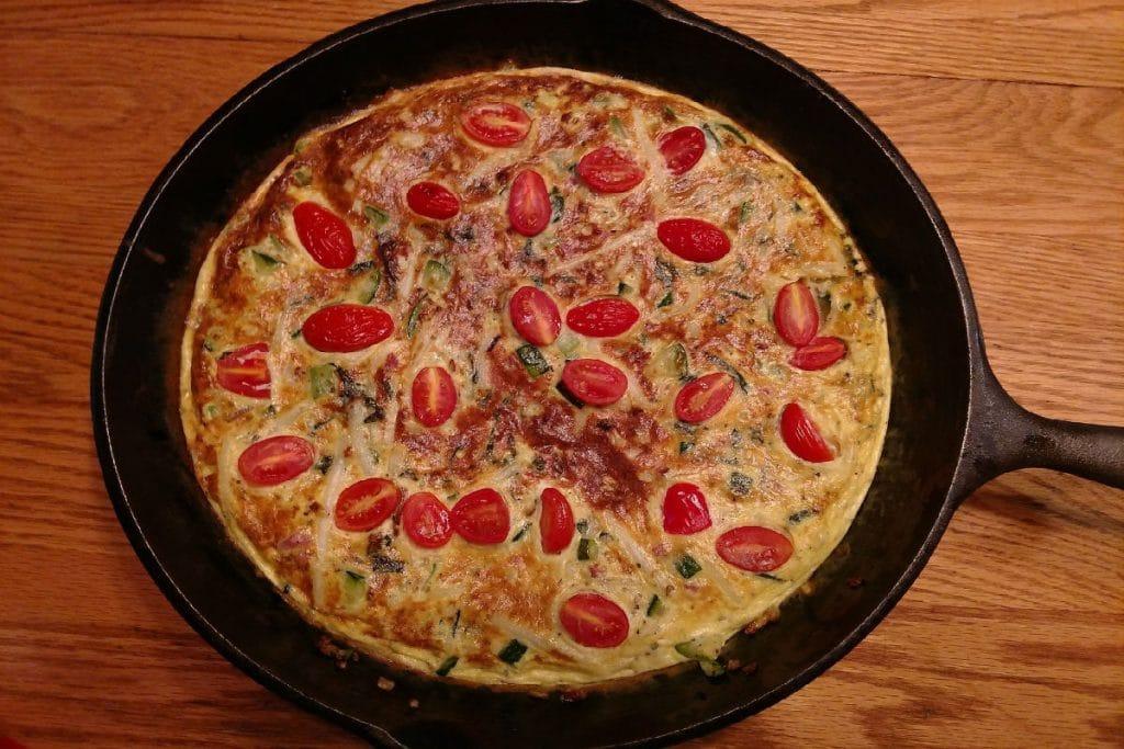 La cocina de la mamma: Falsa pizza con base de tomate