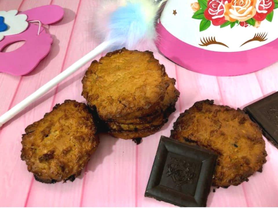 galletas de pistacho y moras blancas