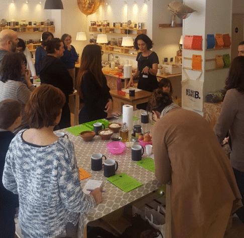 Curso nutrición y cocina en Pepita y Grano Madríd Río