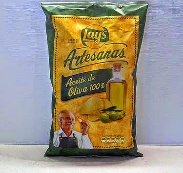 Bolsa de patatas fritas Lays Artesanas