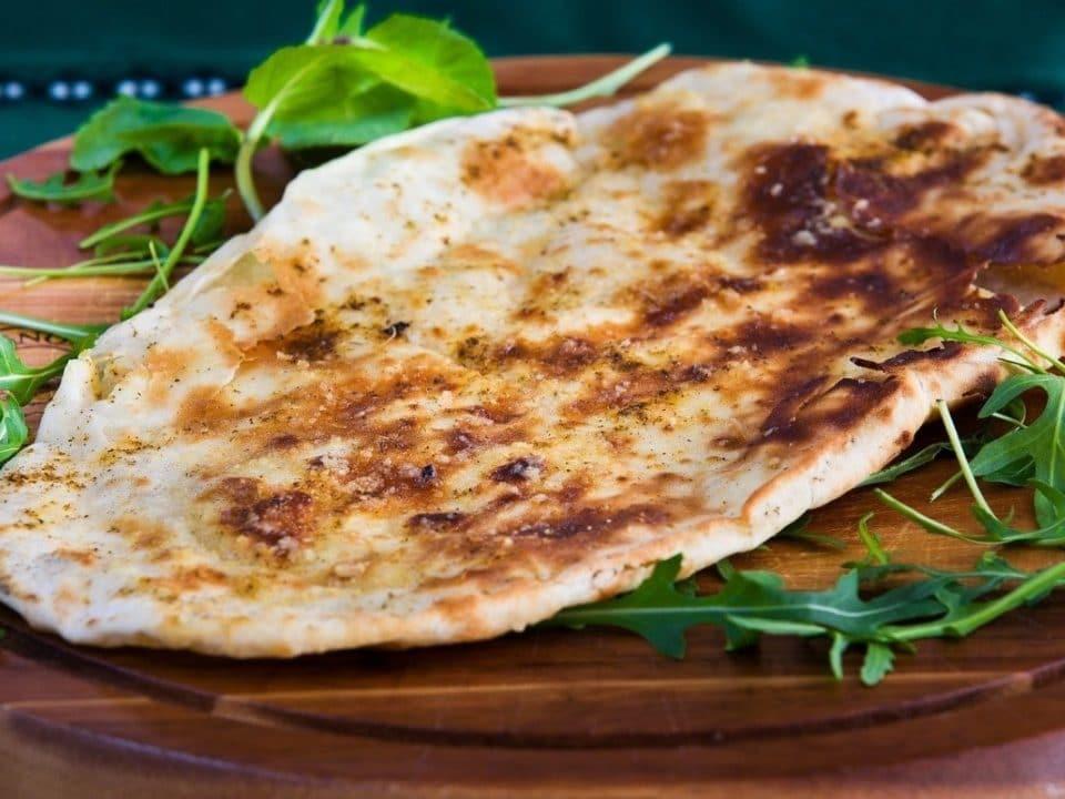 pan naan de queso