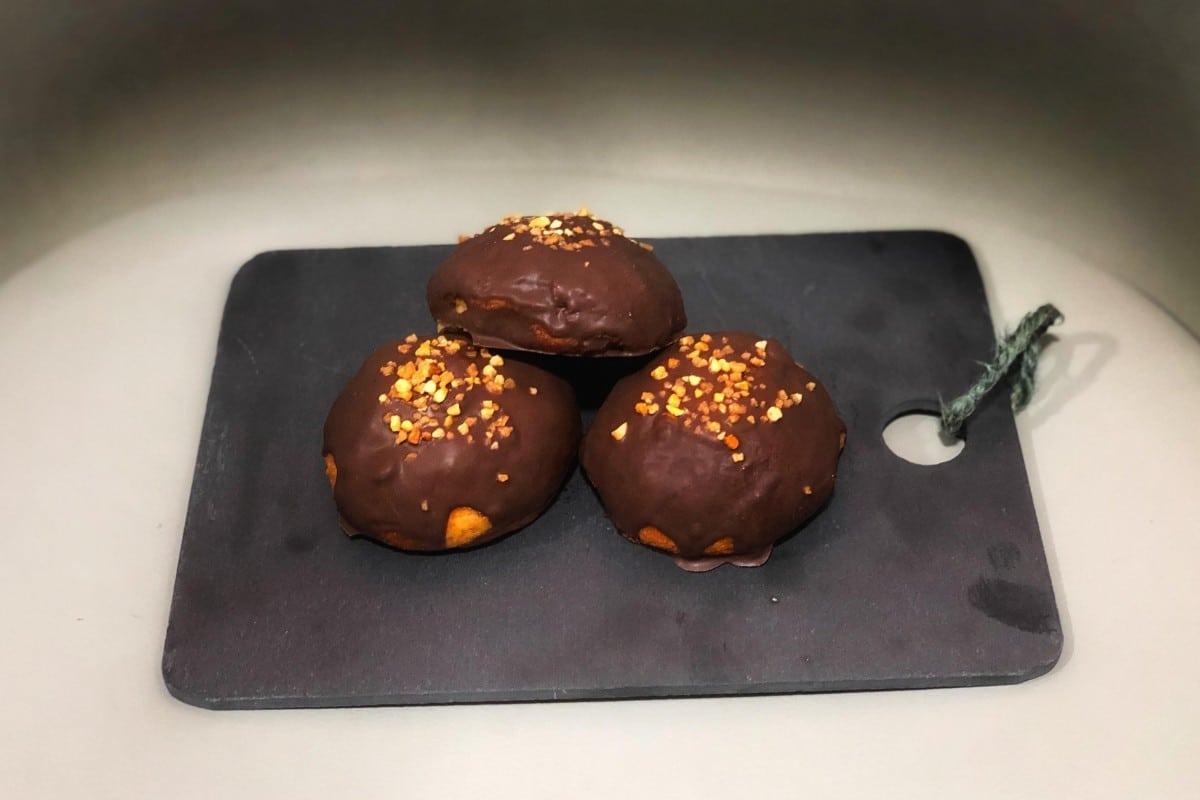 Bollitos de chocolate keto