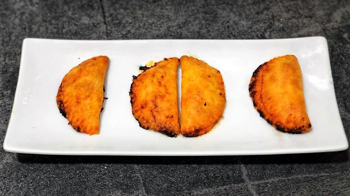rubiols de sobrasada y queso de mahón