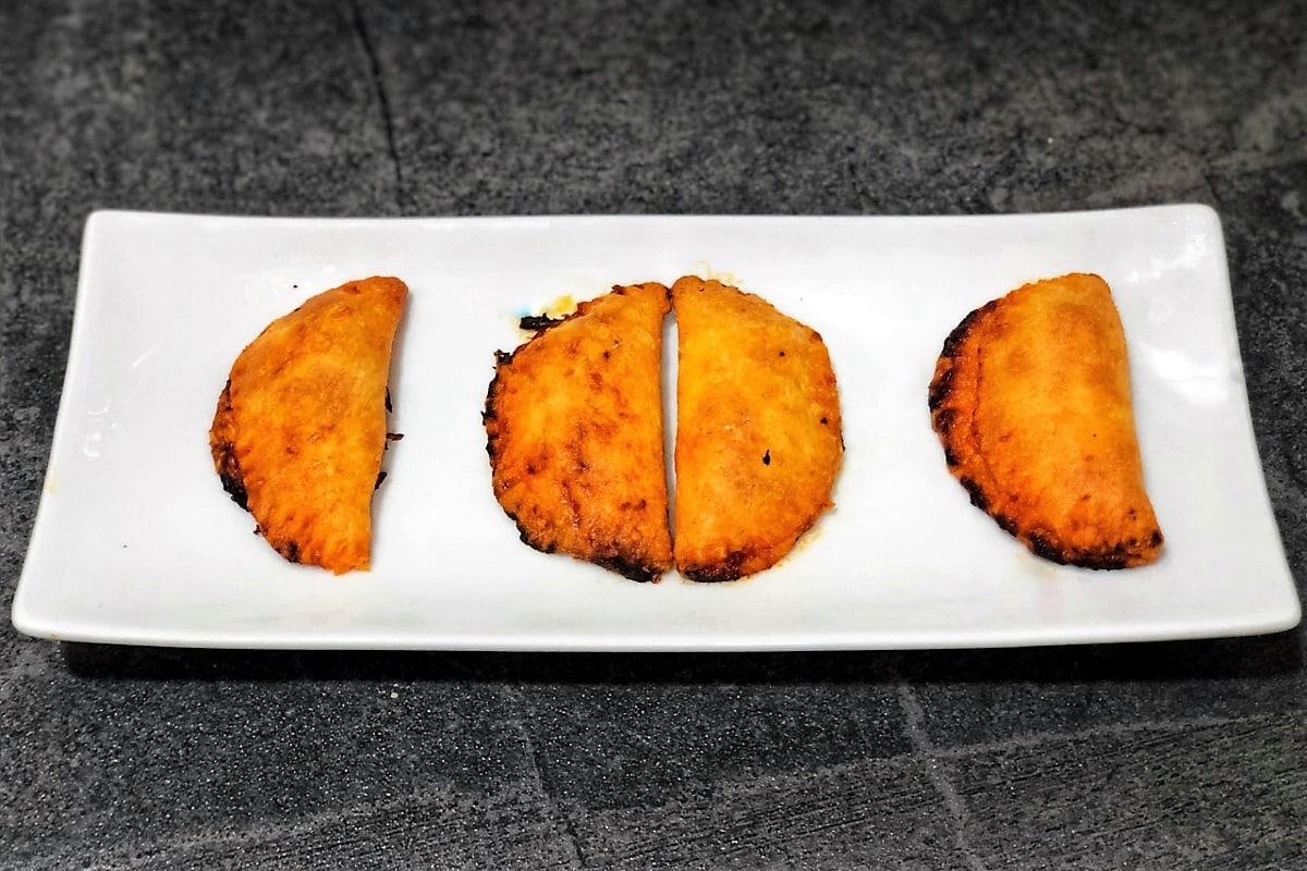 Rubiols de sobrasada y queso de mahón (keto)