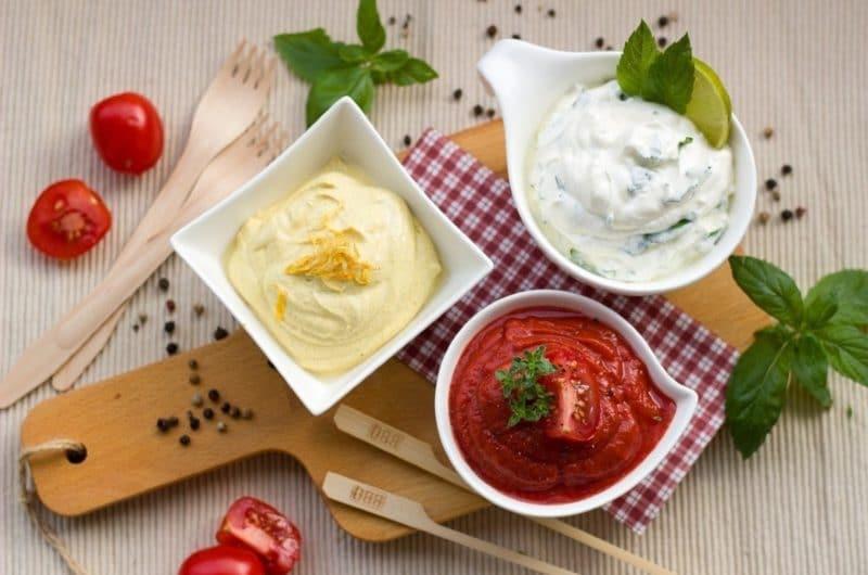 Salsas todo uso bajas en carbohidratos