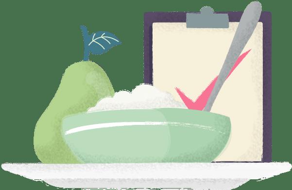 Ilustración nutrición