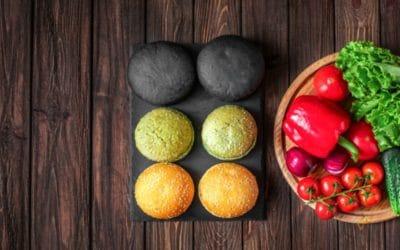 Pan de fécula de patata (de colores!)