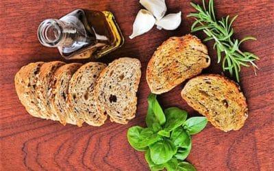Pan de trigo sarraceno y chia