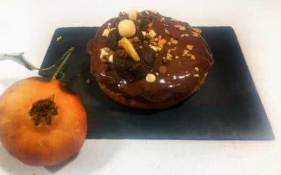 Tarta de chocolate y calabacín
